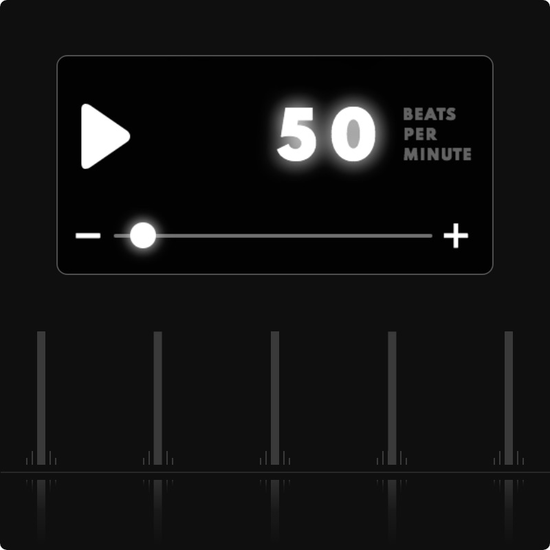 A Practice Makes Perfect Metronome, Virtual Piano
