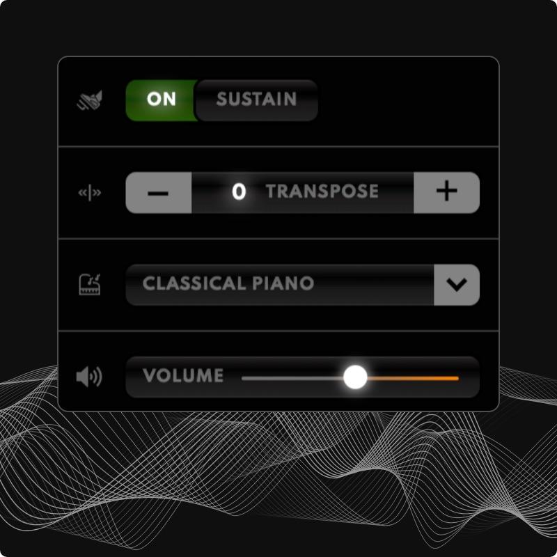 Exceptionally Immersive Sound, Virtual Piano