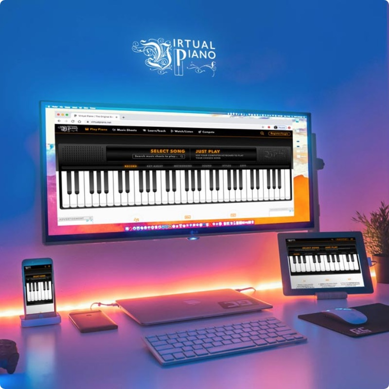 Outstanding Accessibility, Virtual Piano