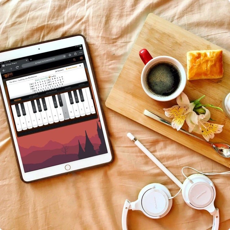 The Easiest Way To Learn, Virtual Piano