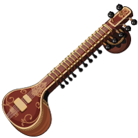 Online Sitar, Indian and Persian Instrument, Virtual Piano, Instrument