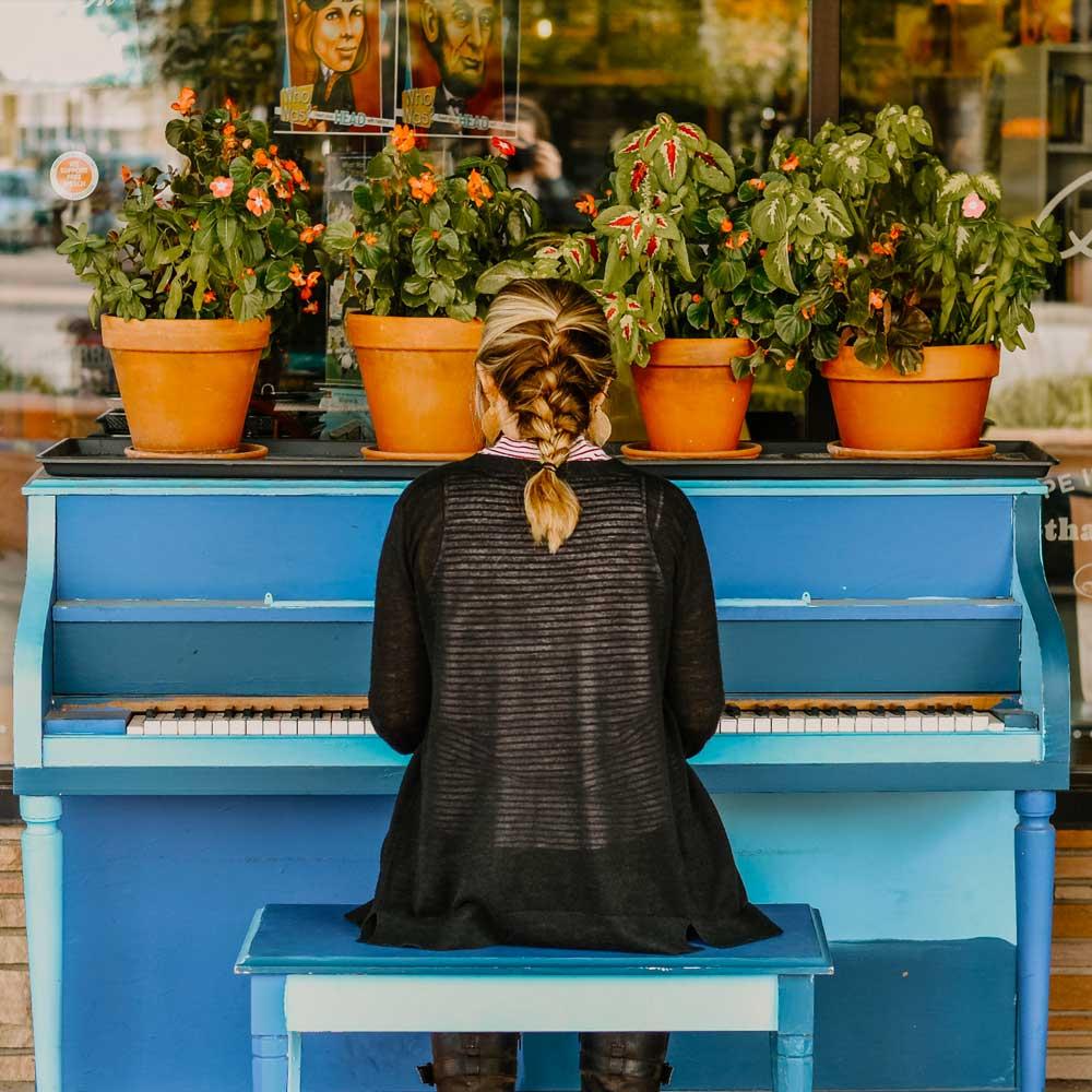 Online Upright Piano, Virtual Piano