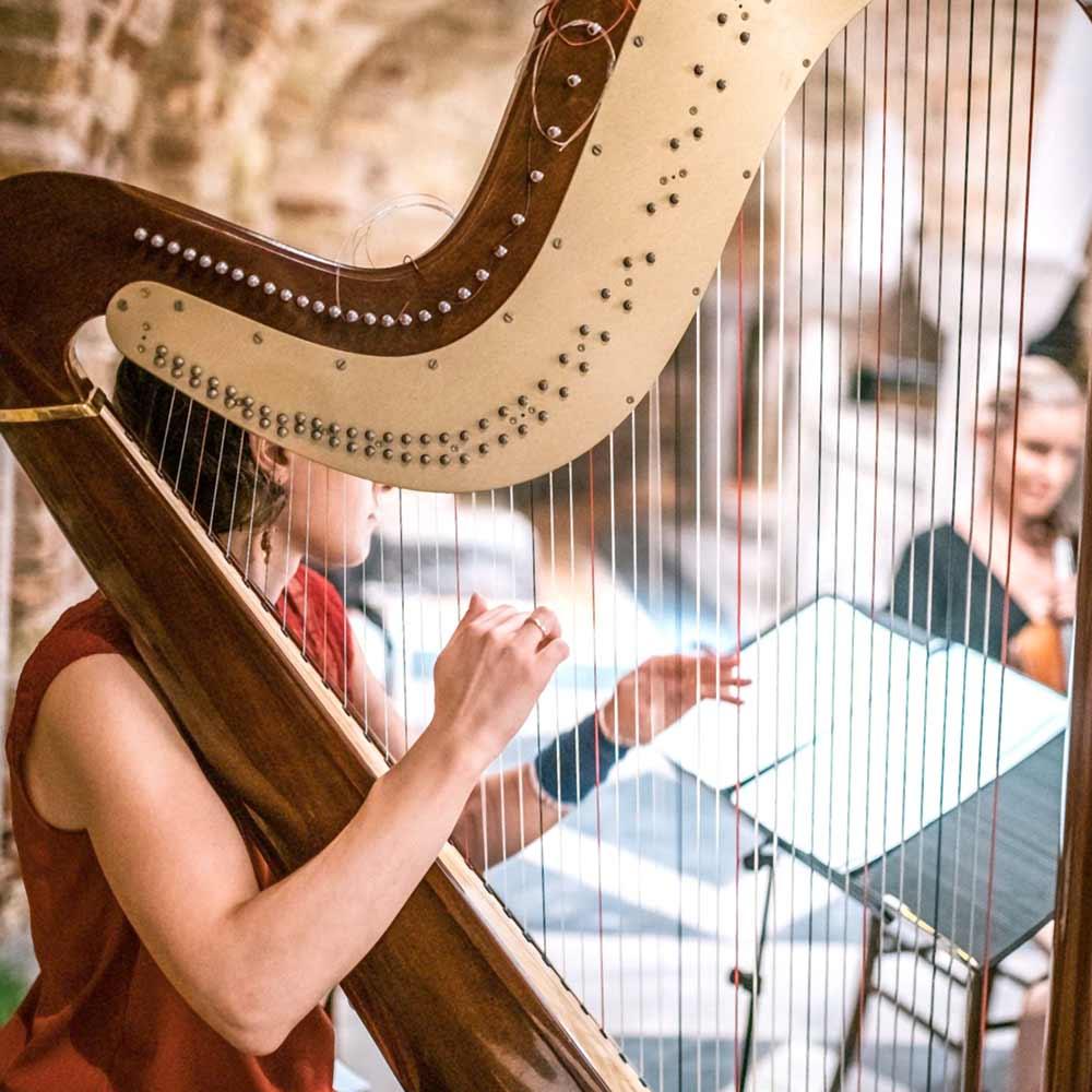 Play Online Harp, Virtual Piano