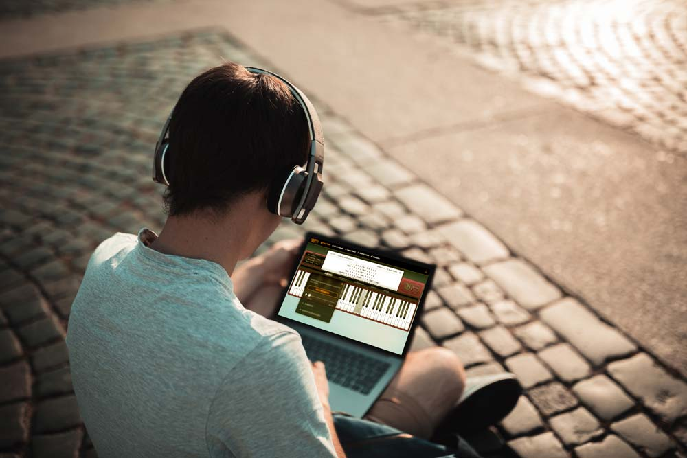 Play Piano On Computer Keyboard, Virtual Piano