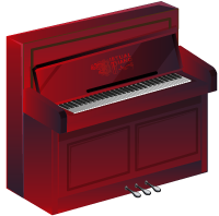 Play Upright Piano, Virtual Piano, Instrument