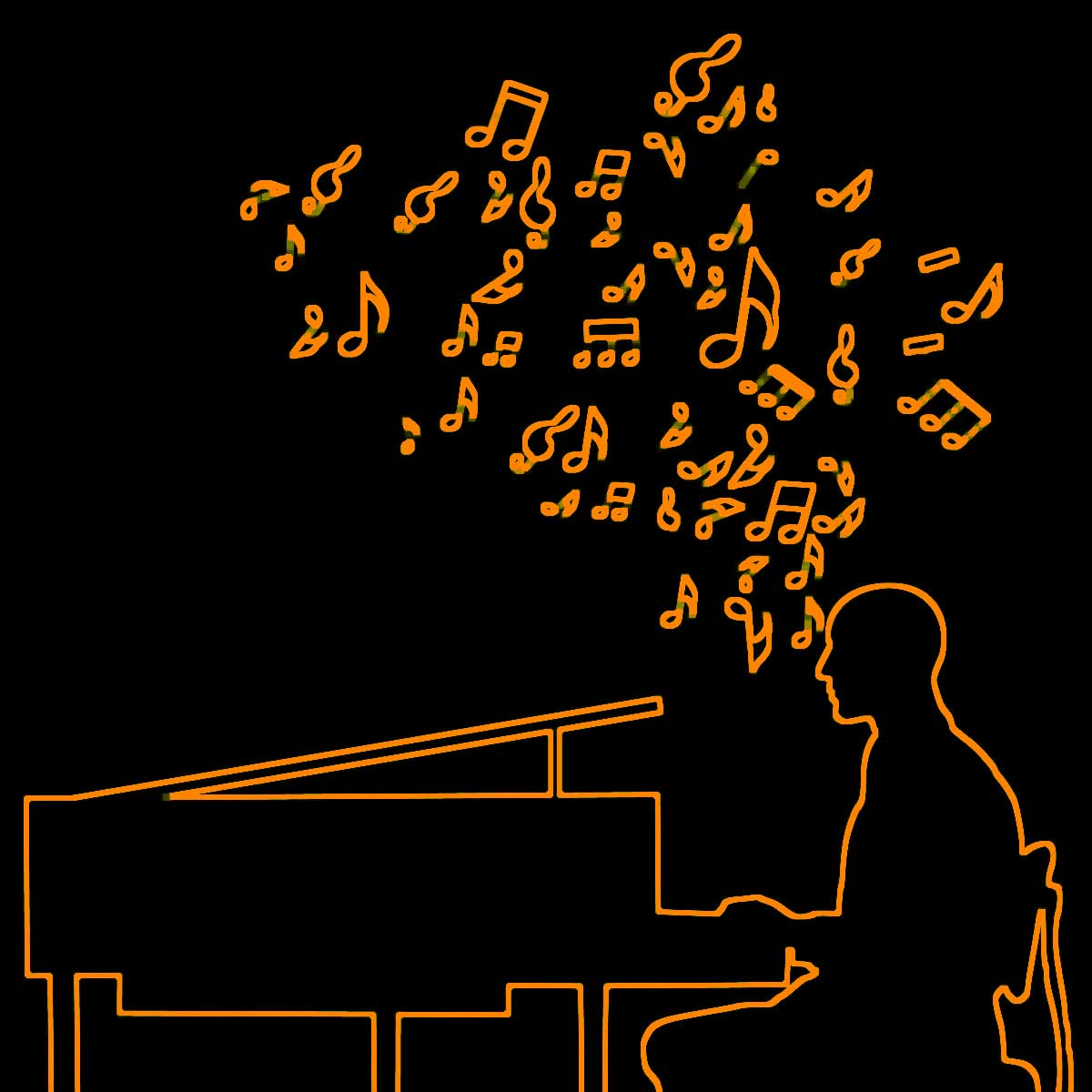 Various, Artist on Virtual Piano, Play Piano Online