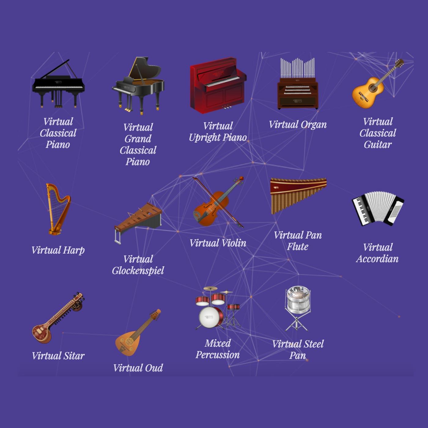 Virtual Music Instruments, Virtual Piano