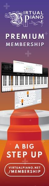 Virtual Piano Premium Membership