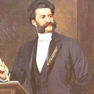 Johann Strauss II, Artist, Online Piano Keyboard, Virtual Piano