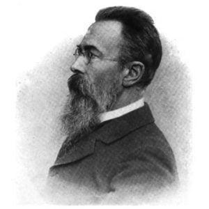 Nikolai Rimsky-Korsakov, Artist on Virtual Piano, Play Piano Online