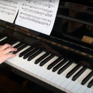 The Flea Waltz, Online Pianist, Virtual Piano
